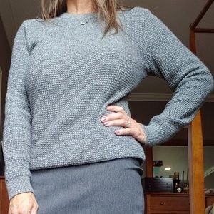 Gray basic sweater
